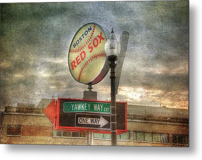 Red Sox Art - Boston Metal Print