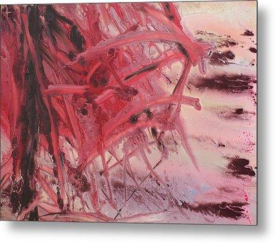 Red Tide Metal Print by Ethel Vrana