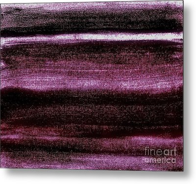 Red To Black Metal Print by Marsha Heiken