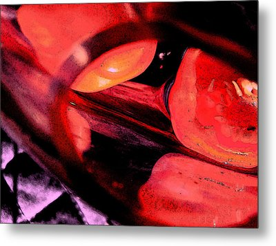 Red Tomatoe Two Metal Print