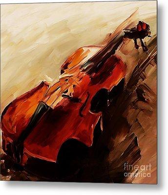 Red Violin  Metal Print