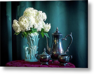 Red, White, Blue Metal Print by Wendy Blomseth