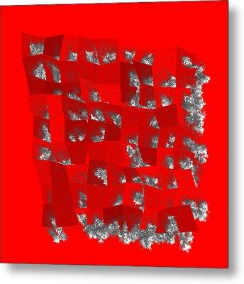 Red.205 Metal Print by Gareth Lewis