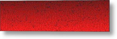Red.418 Metal Print by Gareth Lewis