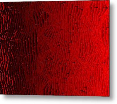 Red.427 Metal Print by Gareth Lewis