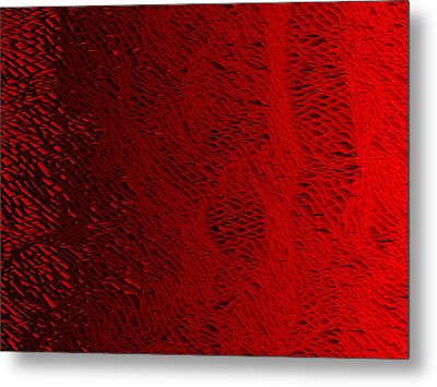 Red.429 Metal Print by Gareth Lewis