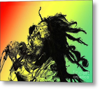 Redemption Song Metal Print