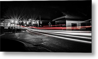 Reds In Downtown Helena Metal Print by Parker Cunningham