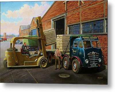 Reed Paper Foden Fg Metal Print by Mike  Jeffries