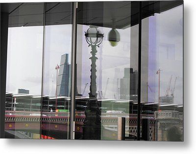 Refection Blackfriars Metal Print