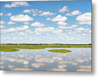 Reflected Clouds - 02 Metal Print by Rob Graham