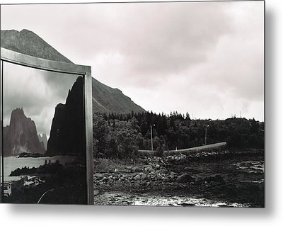 Reflected Metal Print by Gregory Barger