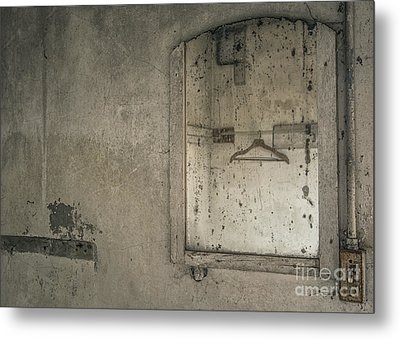 Reflected Past Metal Print by Terry Rowe
