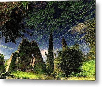 Reflected Ruins Metal Print by Fulvio Pellegrini