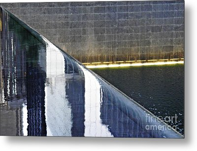 Reflecting On Nine Eleven 3 Metal Print by Sarah Loft