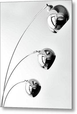 Reflection And Refraction 2 Metal Print