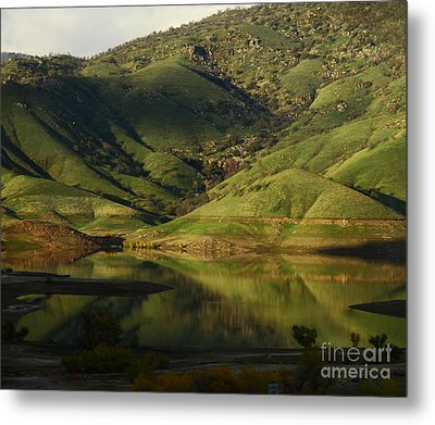 Reflection And Shadows Metal Print by Debby Pueschel