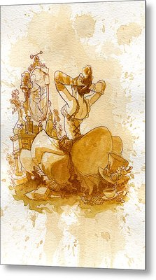 Reflection Metal Print by Brian Kesinger