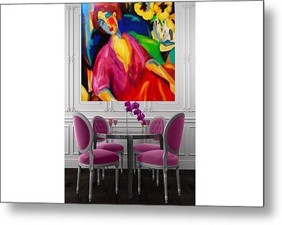 Reflection Metal Print by Heather Roddy