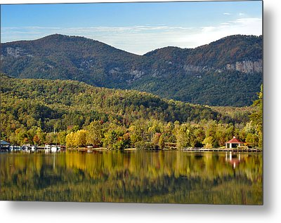Reflection Of The Gorge Metal Print by Donnie Smith
