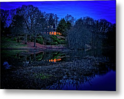 Reflection On The Concord River Metal Print