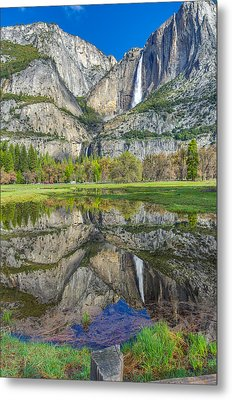 Metal Print featuring the photograph Reflection  by Scott McGuire