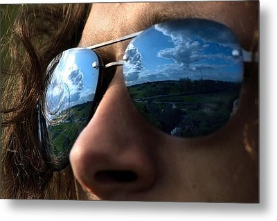 Metal Print featuring the photograph Reflection by Votus