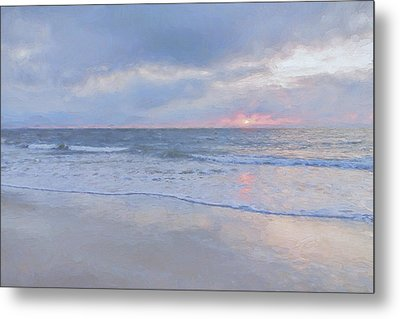 Reflections 10 Metal Print by Lonnie Christopher