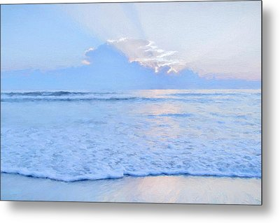 Reflections 6 Metal Print by Lonnie Christopher