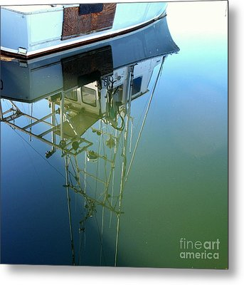 Reflections Metal Print by Carol Grimes