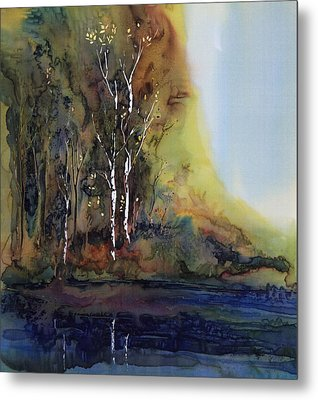 Reflections Metal Print by Carolyn Doe