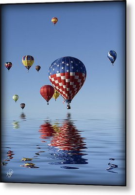 Reflections Metal Print by Gordon Engebretson