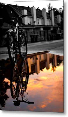 Reflections Metal Print by Jake Marvin