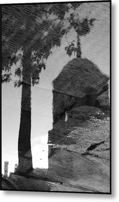 Reflections Metal Print by Julia Bridget Hayes