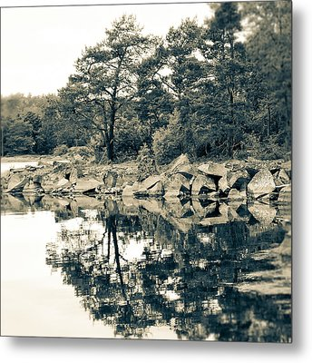 Reflections Metal Print by Karen Stahlros