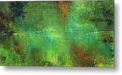 Reflections Metal Print by Lolita Bronzini