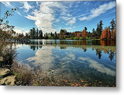 Reflections Of A Day Gone By Metal Print by Tim Coleman