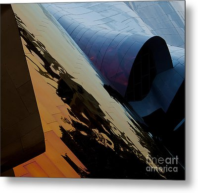 Reflections Of Another World Metal Print by Mike Dawson