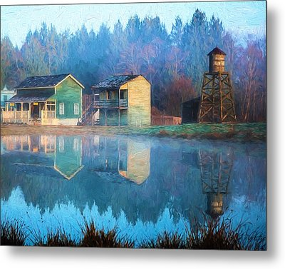 Reflections Of Hope - Hope Valley Art Metal Print