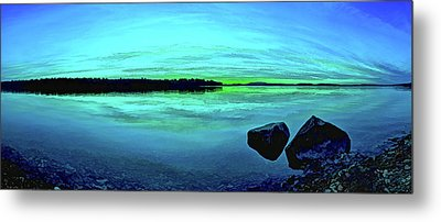 Metal Print featuring the photograph Reflections Of Serenity by ABeautifulSky Photography