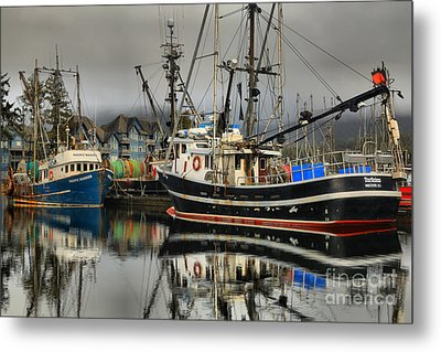 Reflections Of The Tactician Metal Print by Adam Jewell
