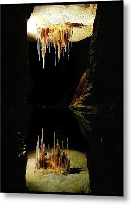 Reflections Of The Underworld Metal Print
