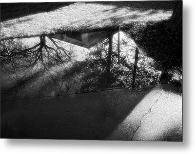 Metal Print featuring the photograph Reflections Of Two Loves by Jeanette O'Toole
