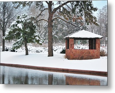 Reflections Of Winter Metal Print by Betty LaRue