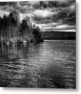 Reflections On Limekiln Lake Metal Print by David Patterson