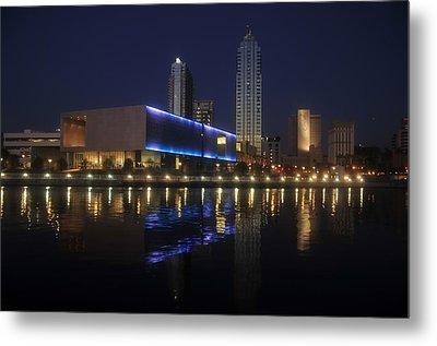 Reflections On Tampa Metal Print by David Lee Thompson