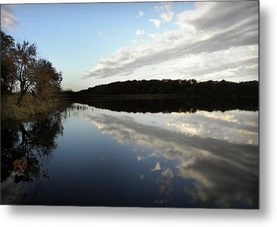 Metal Print featuring the photograph Reflections On The Lake by Chris Berry