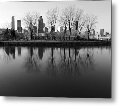 Reflections Metal Print by Robert Knight
