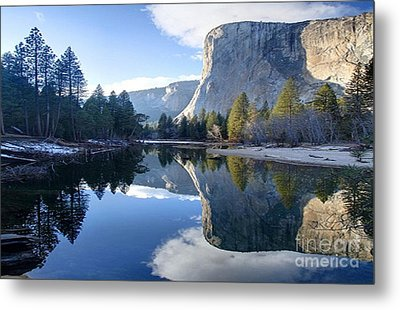 Reflections Metal Print by Rod Jellison
