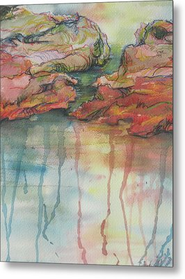 Reflections Metal Print by Sandy Tracey